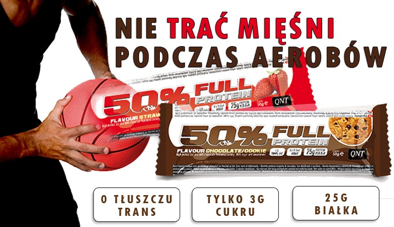50% Full protein bar 12 x 50 g